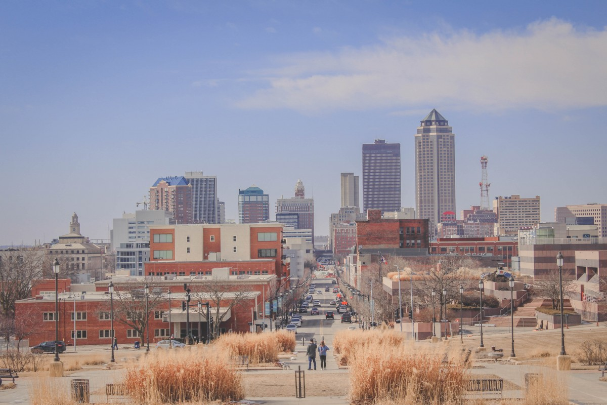 Historic East Village in Des Moines
