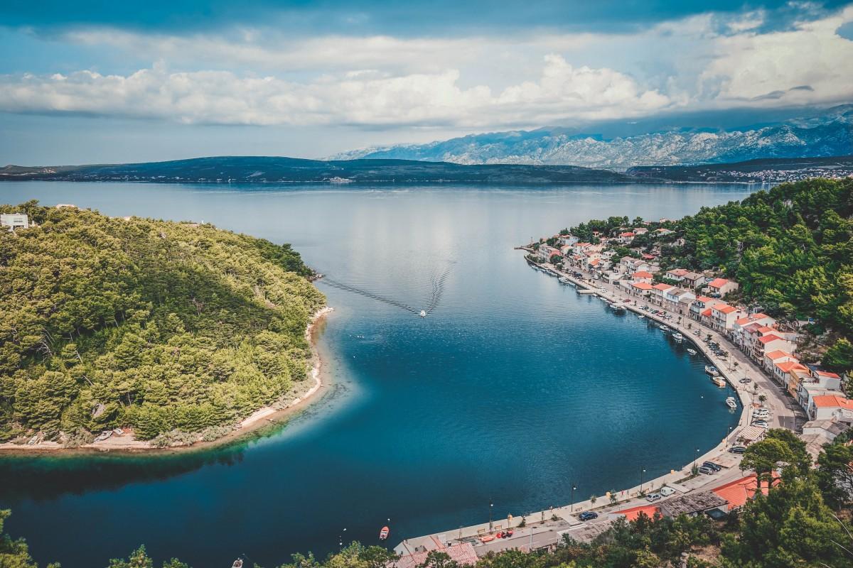 Places to Kayak Dalmatian Coast Photo