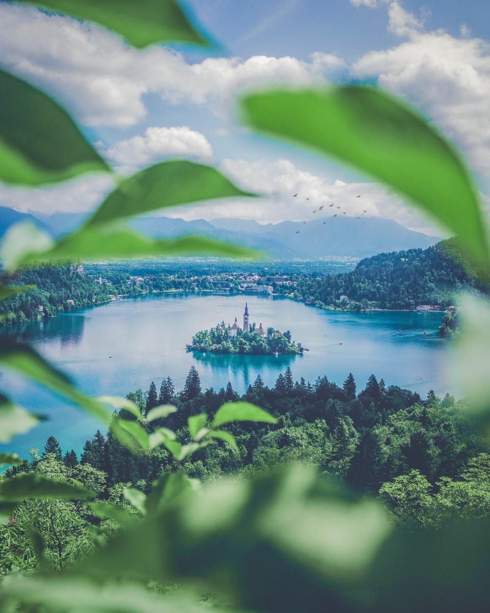 Places to kayak photo of Lake Bled Slovenia