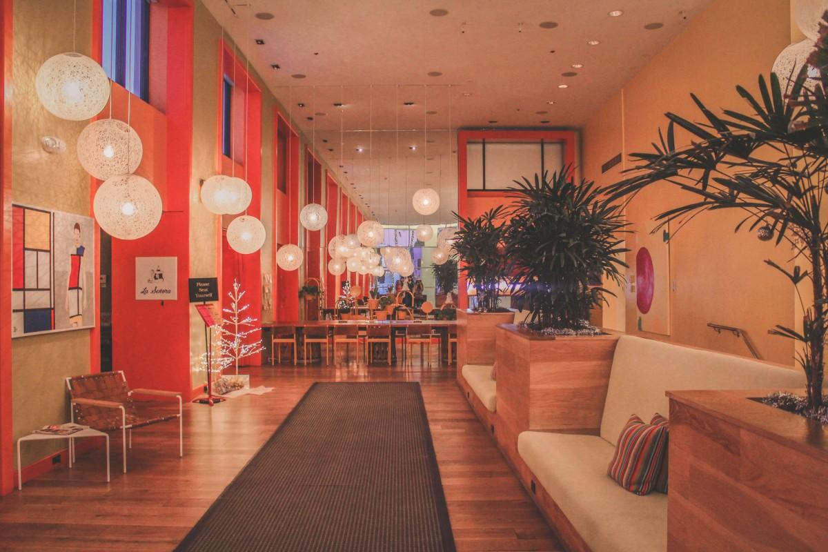 The Saguaro Scottsdale Lobby
