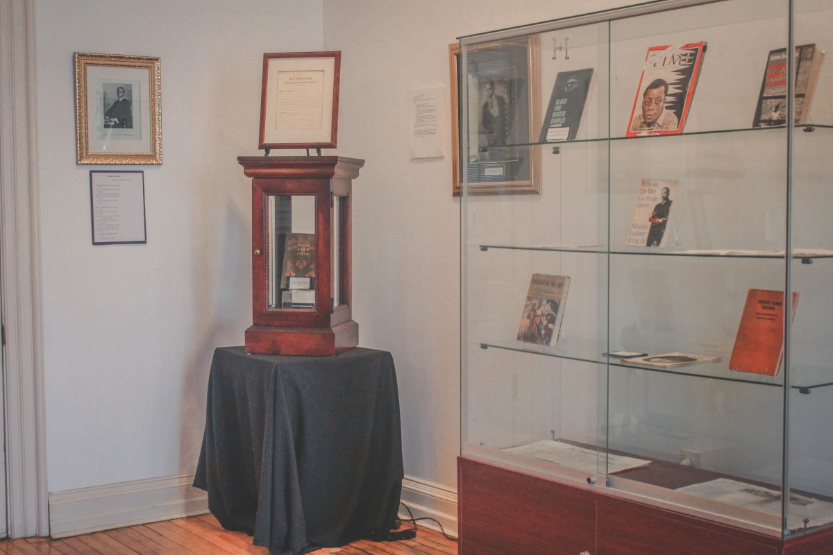 Black Writer's Museum interior