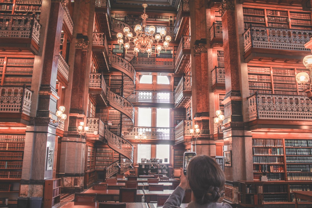 Beauty and the beast style library in Des Moines