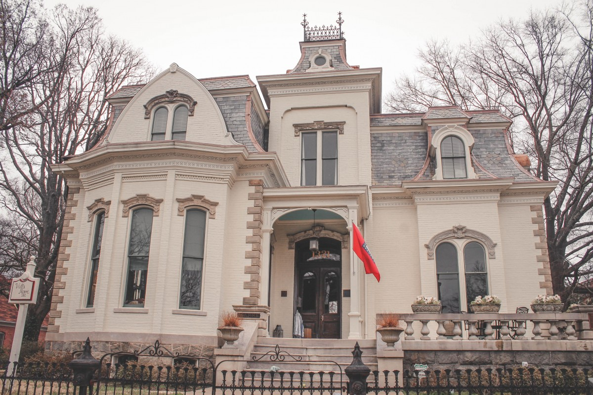 Villa Marre exterior from Designing Women Sugarbaker Design Firm