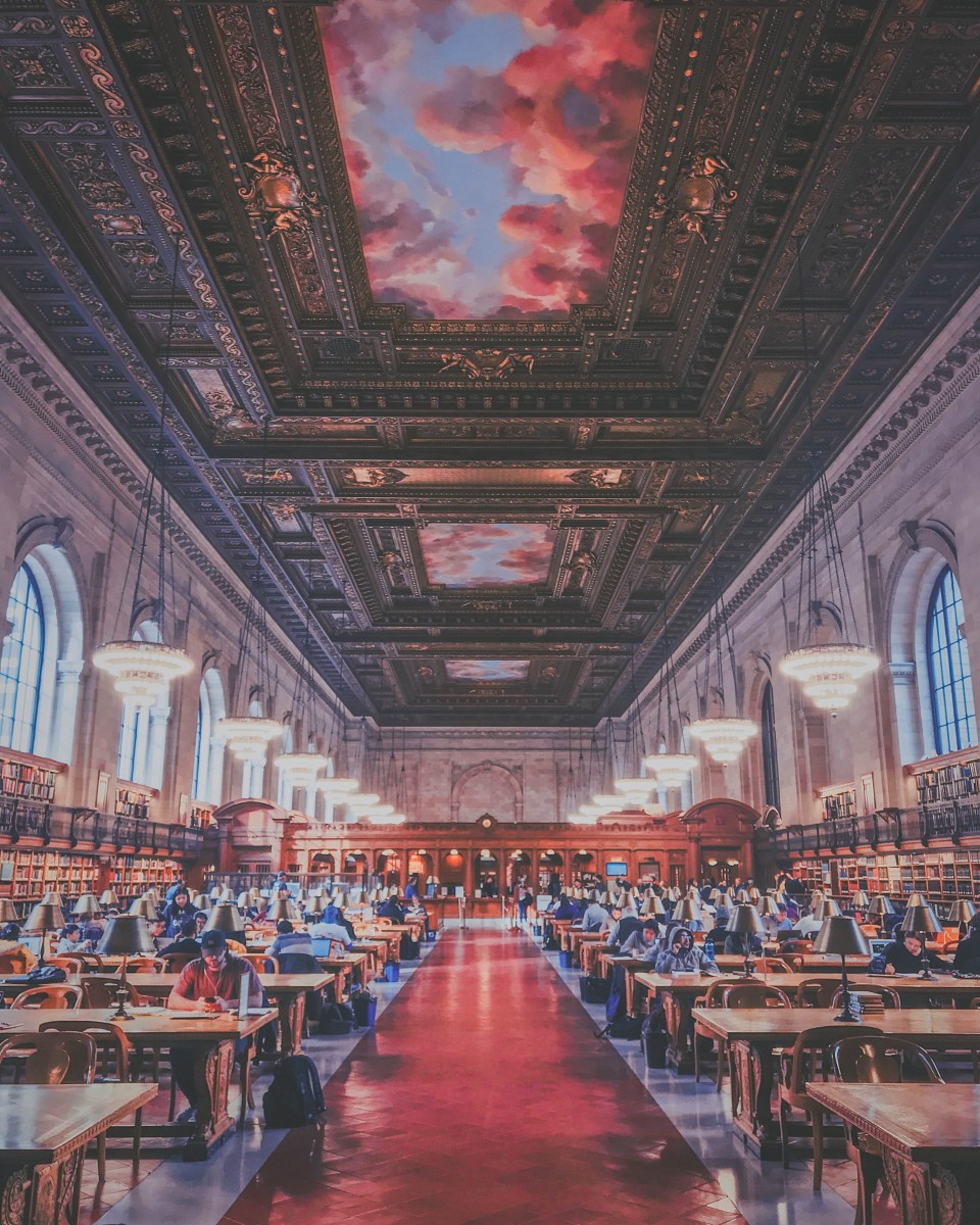 Rose Reading Room: inside the New York Public Library