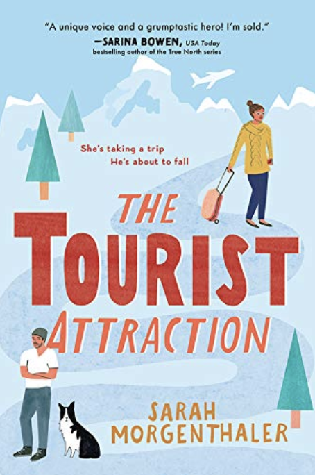 travel romance books: The tourist attraction cover