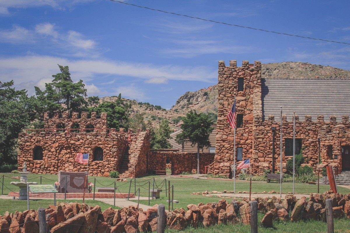 Holy City Of The Wichitas Entrance
