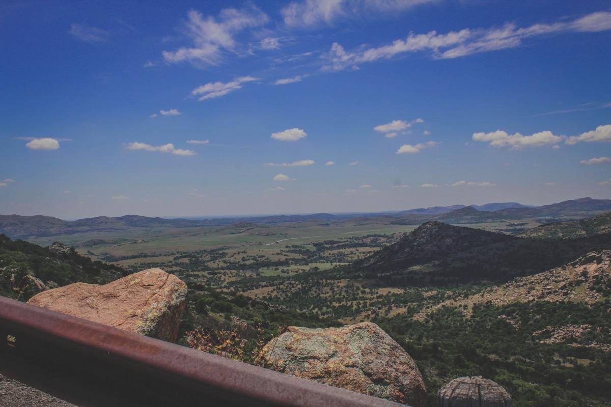 Drive up Mount Scott