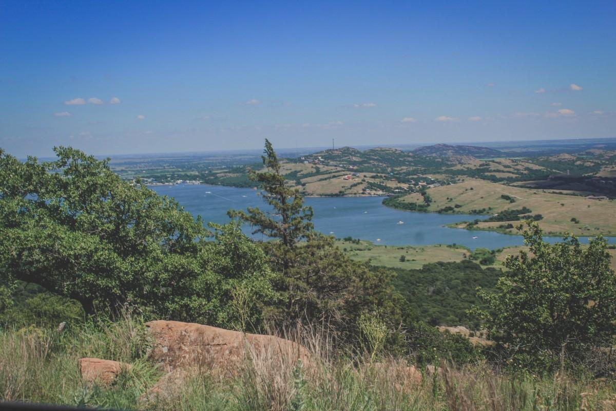 Views from Mount Scott