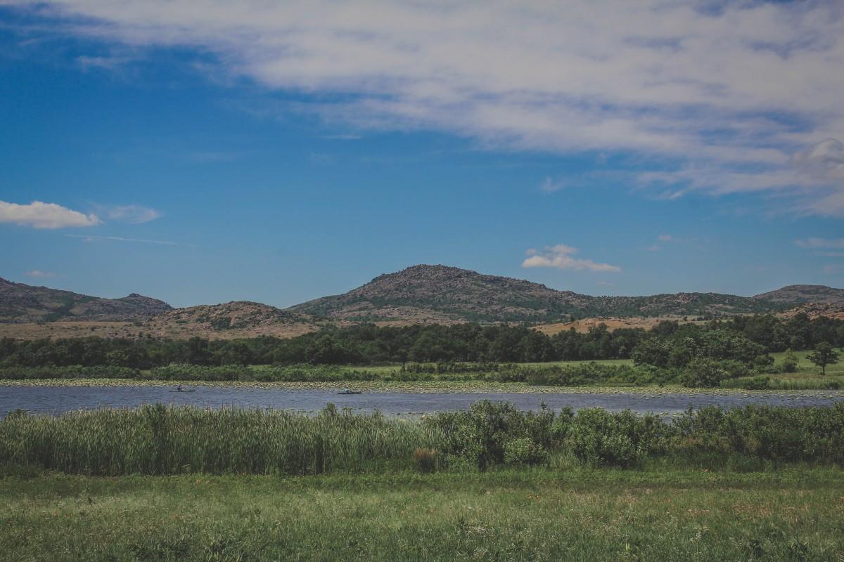 Wichita Mountains Wildlife Refuge Kayaking And Lilypads