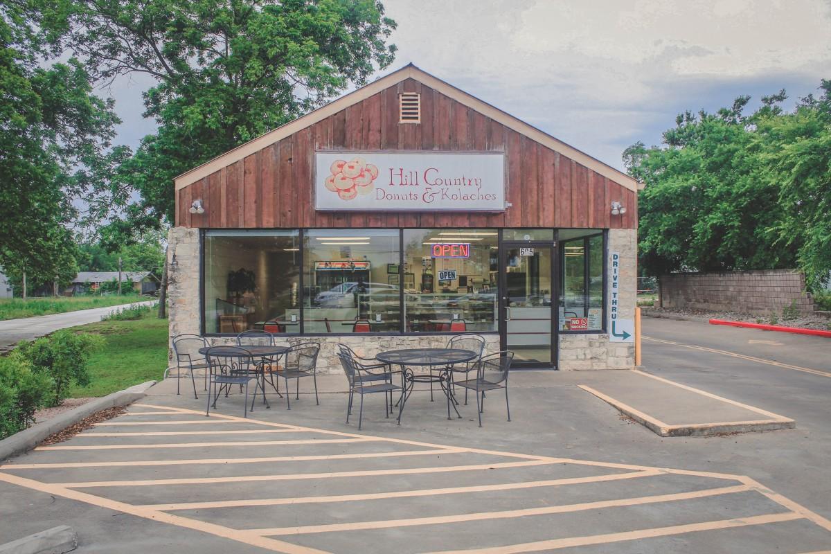 Restaurants in Fredericksburg - Hill Country Donuts & Kolaches