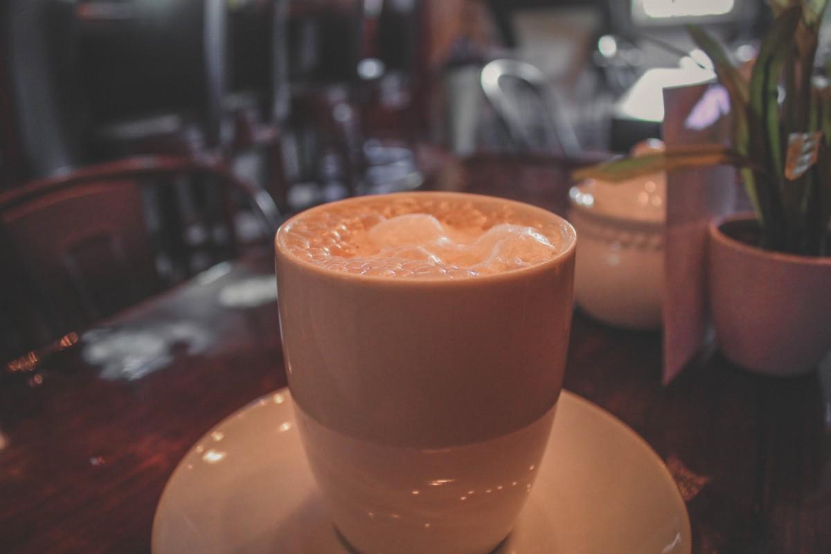 Restaurants in Fredericksburg - hot chocolate