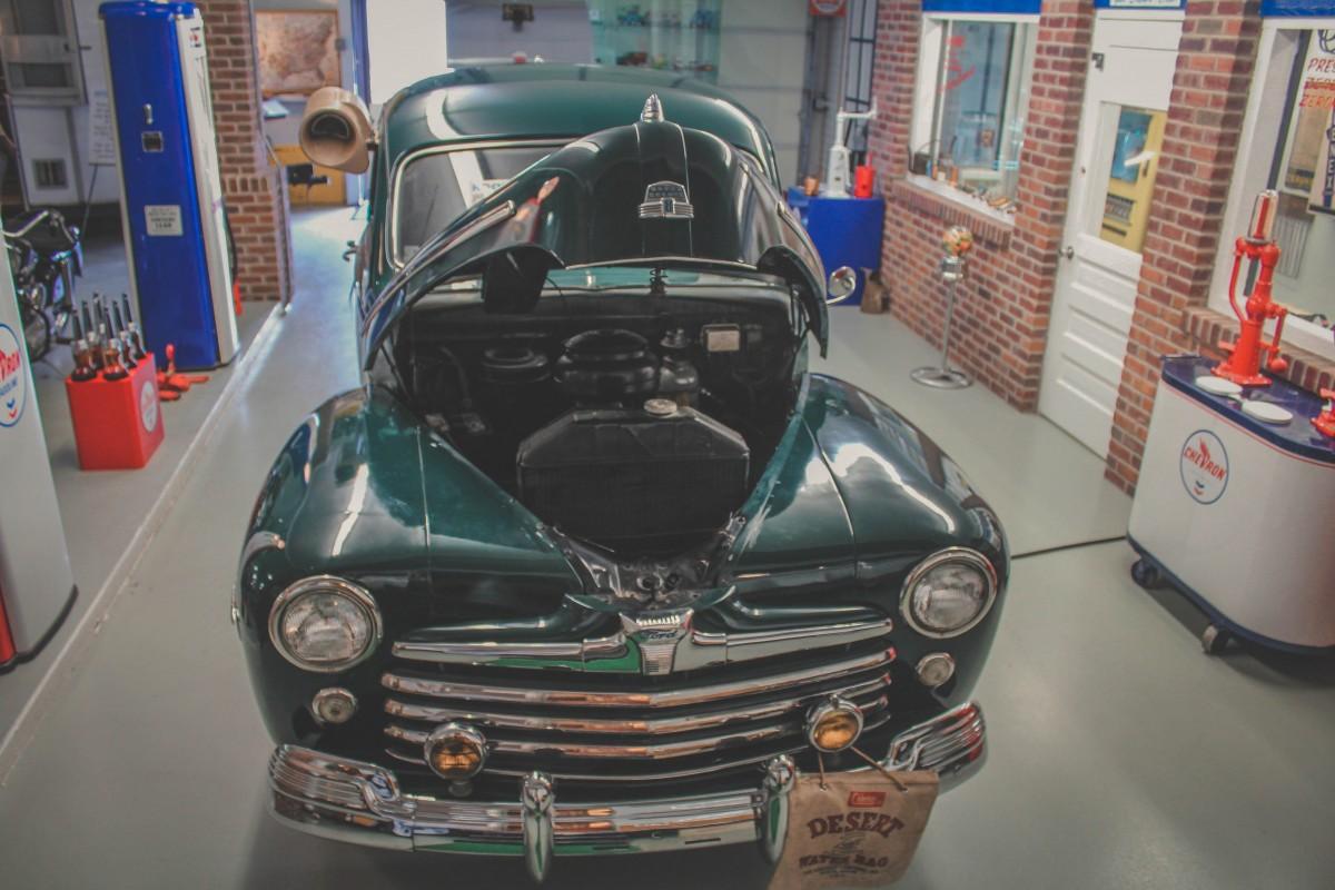 RV museum car