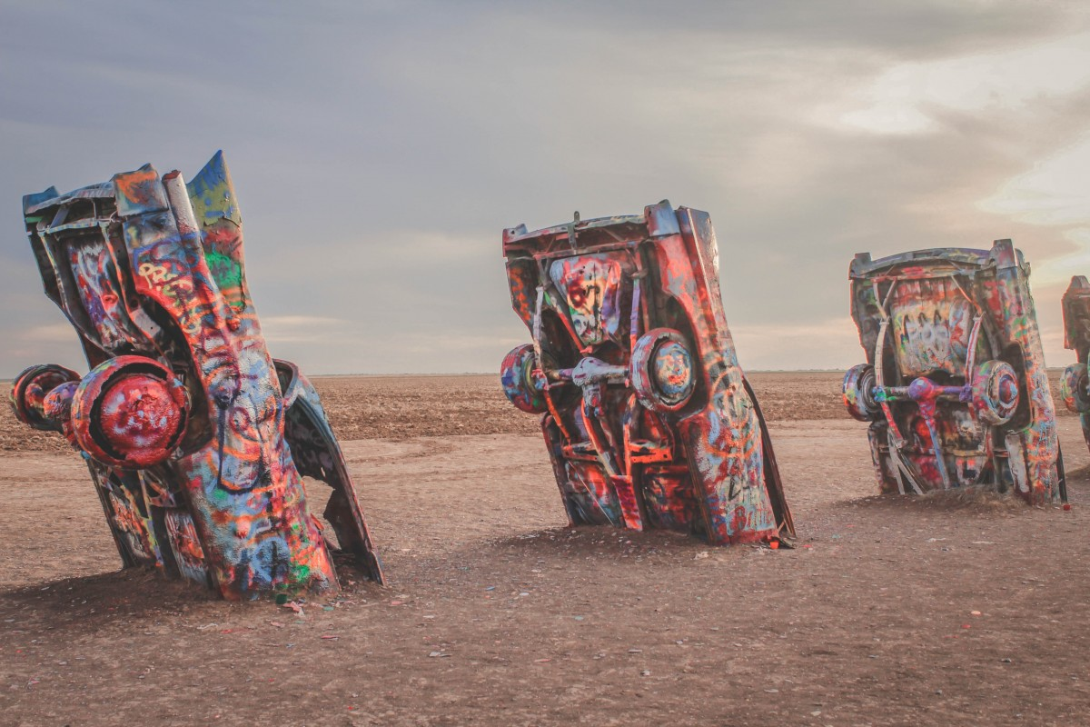 Cadillac Ranch classic cars