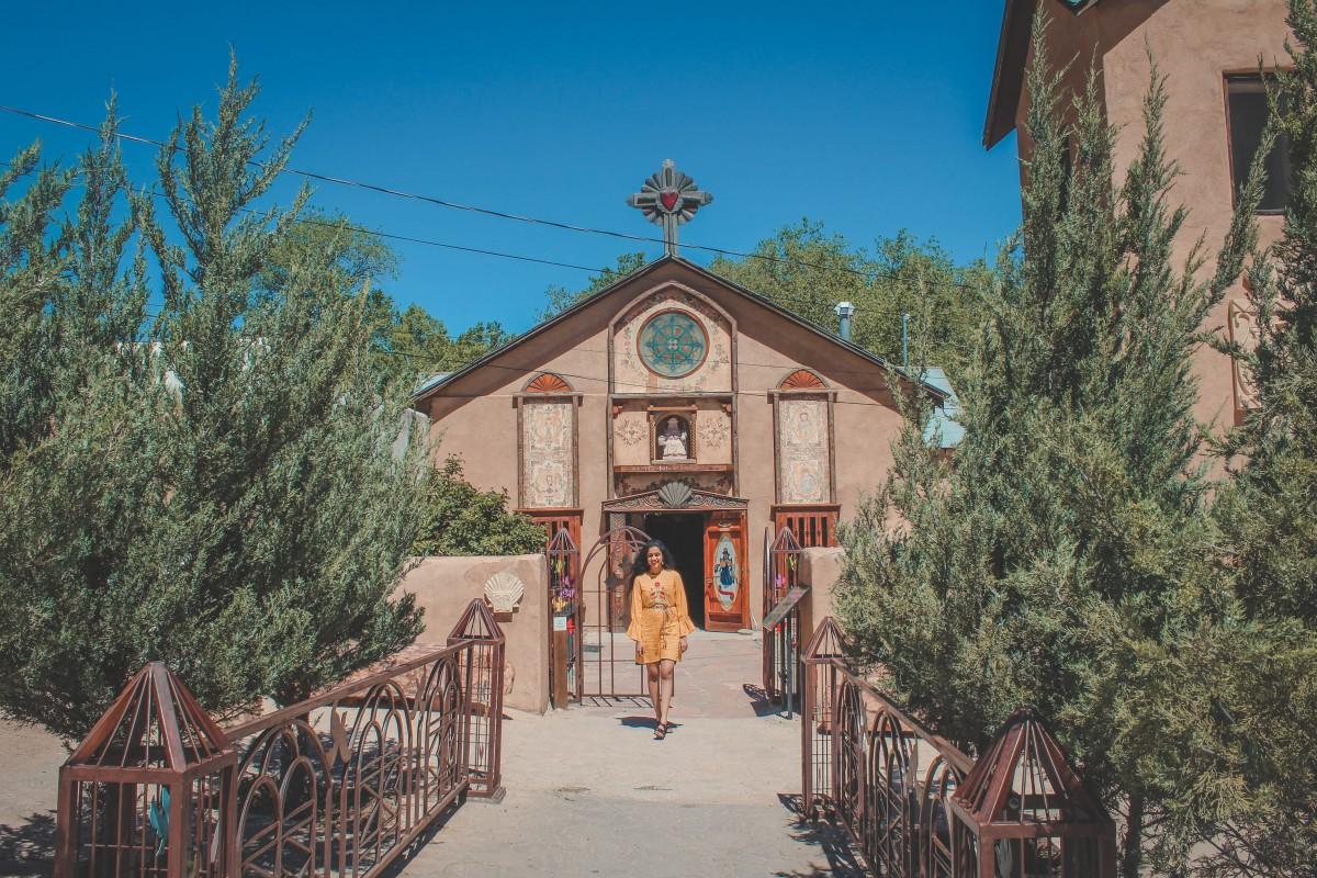 Santo Niño Chapel in Chimayo, New Mexico