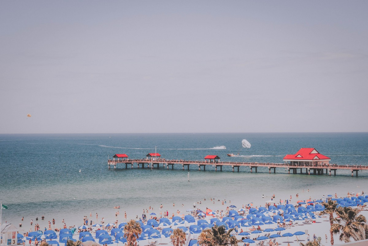 Day Trip To Clearwater Beach: Pier 60