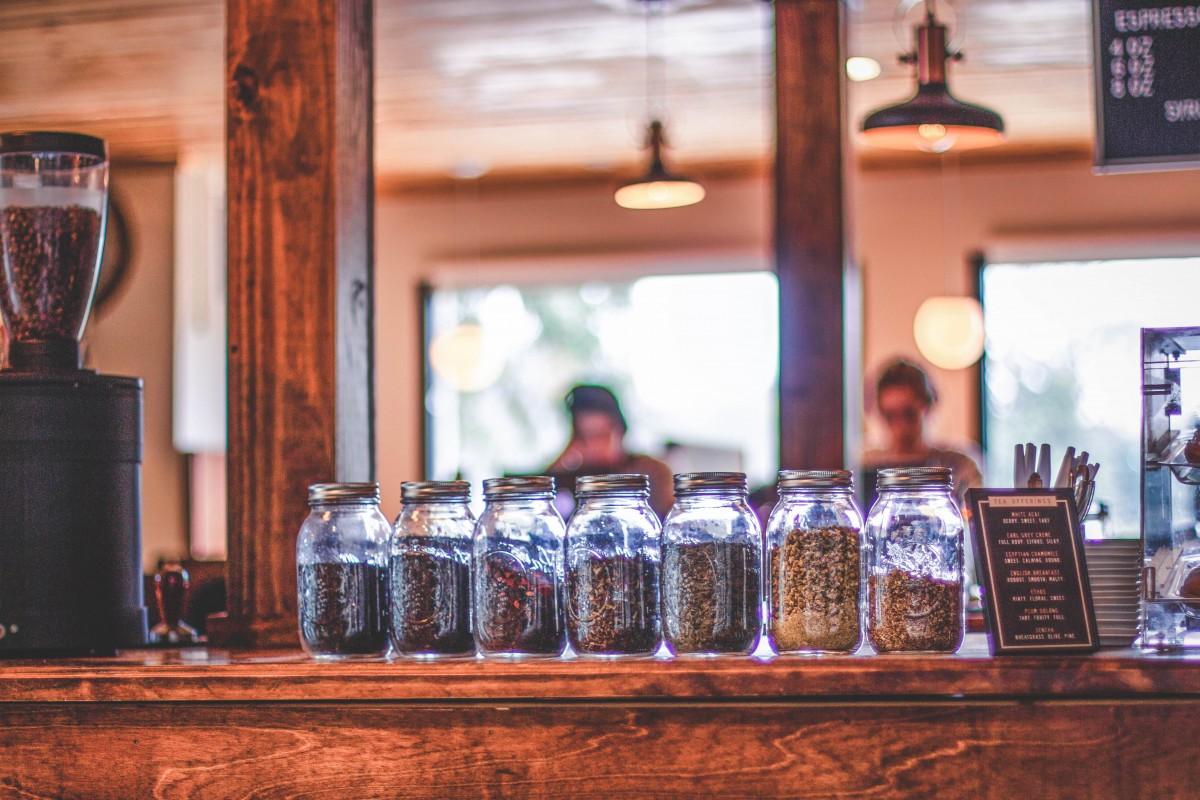 Coffee Shops In Waco - Pinewood coffee bar tea options