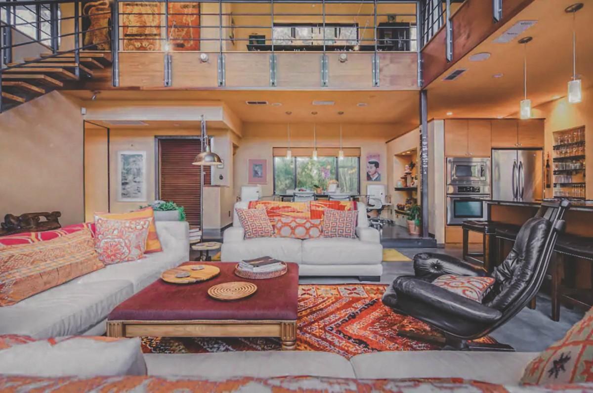 Airbnbs in Austin: Bali Inspired Loft