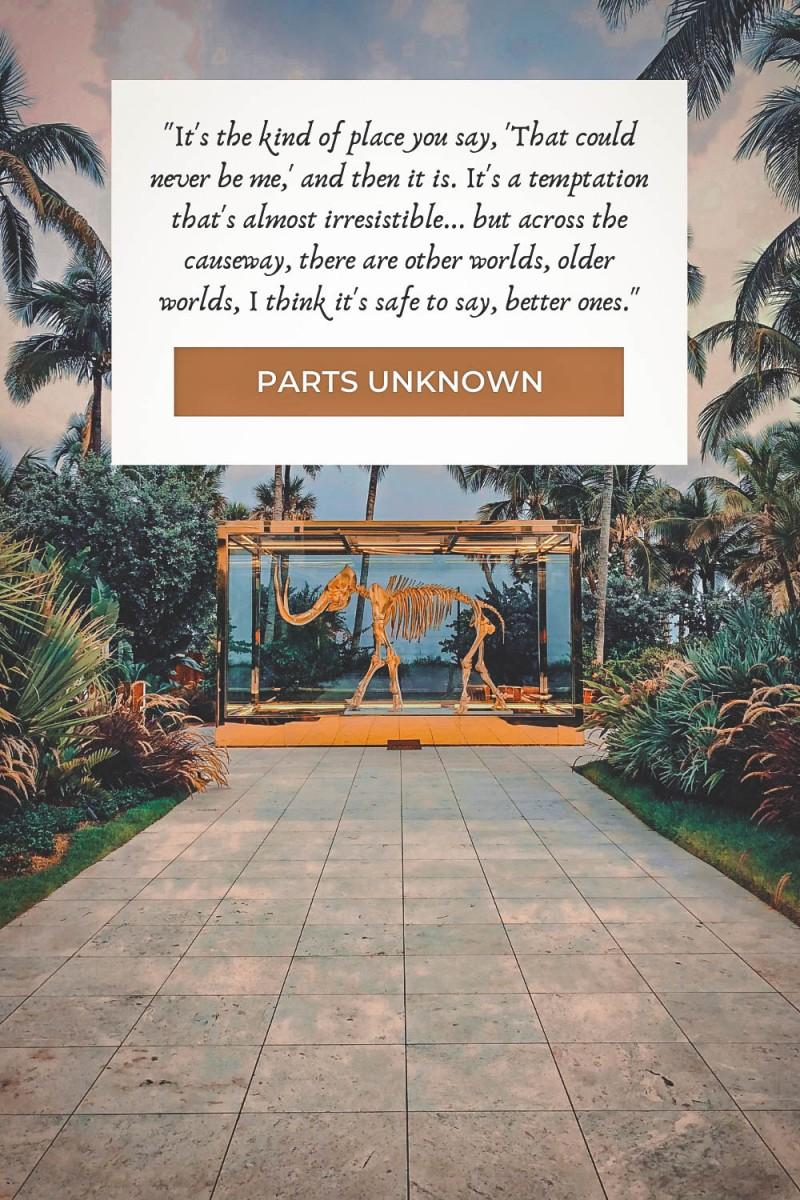 Parts Unknown Miami quotes
