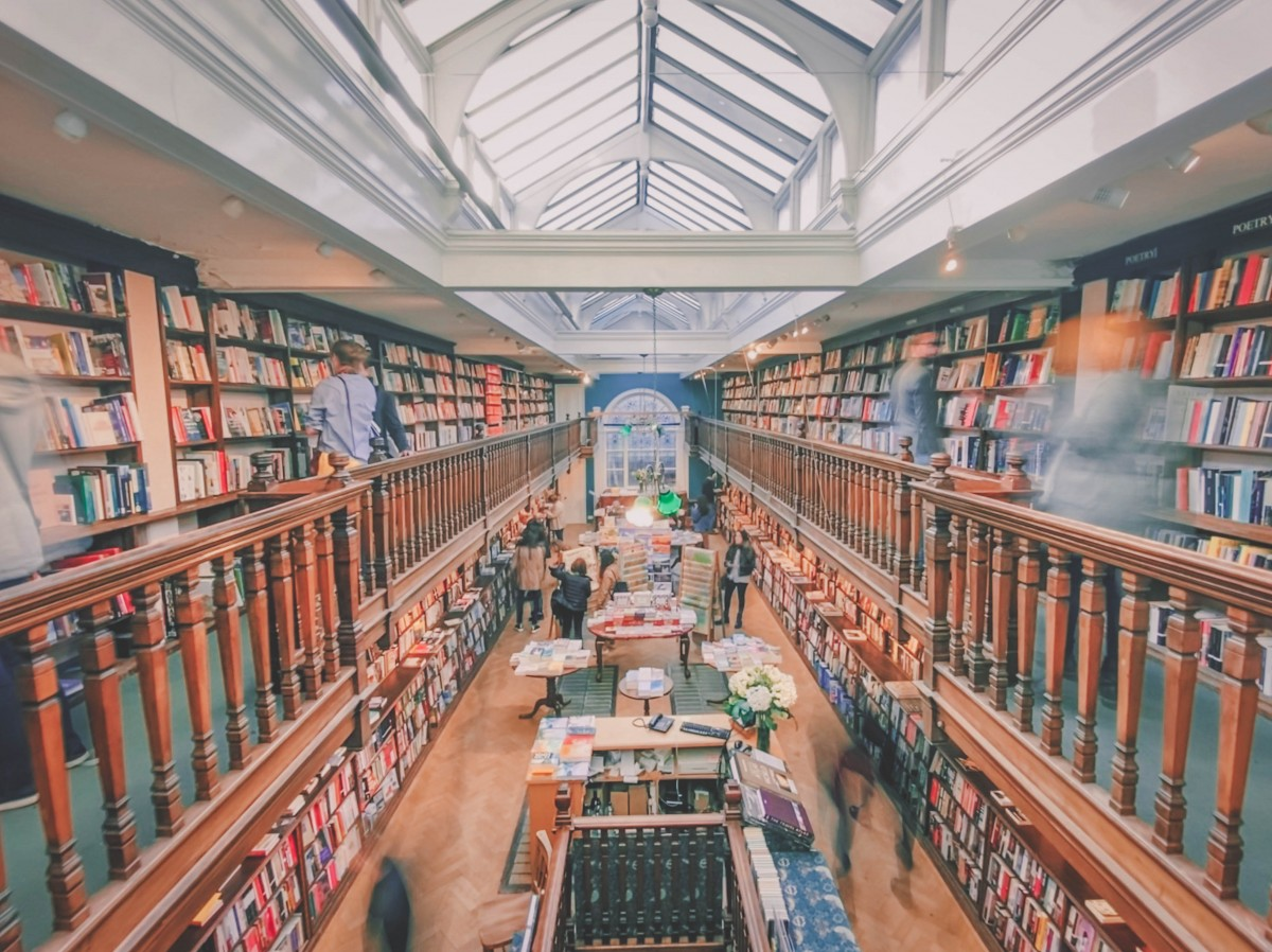 best bookstores in the world : Daunt Books, England