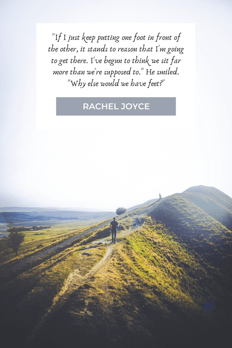 Hiking Quotes by Rachel Joyce
