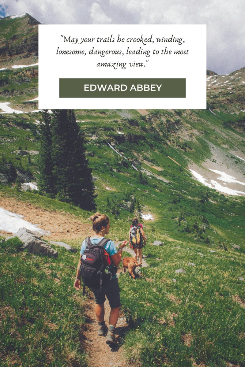 Hiking Quotes by Edward Abbey