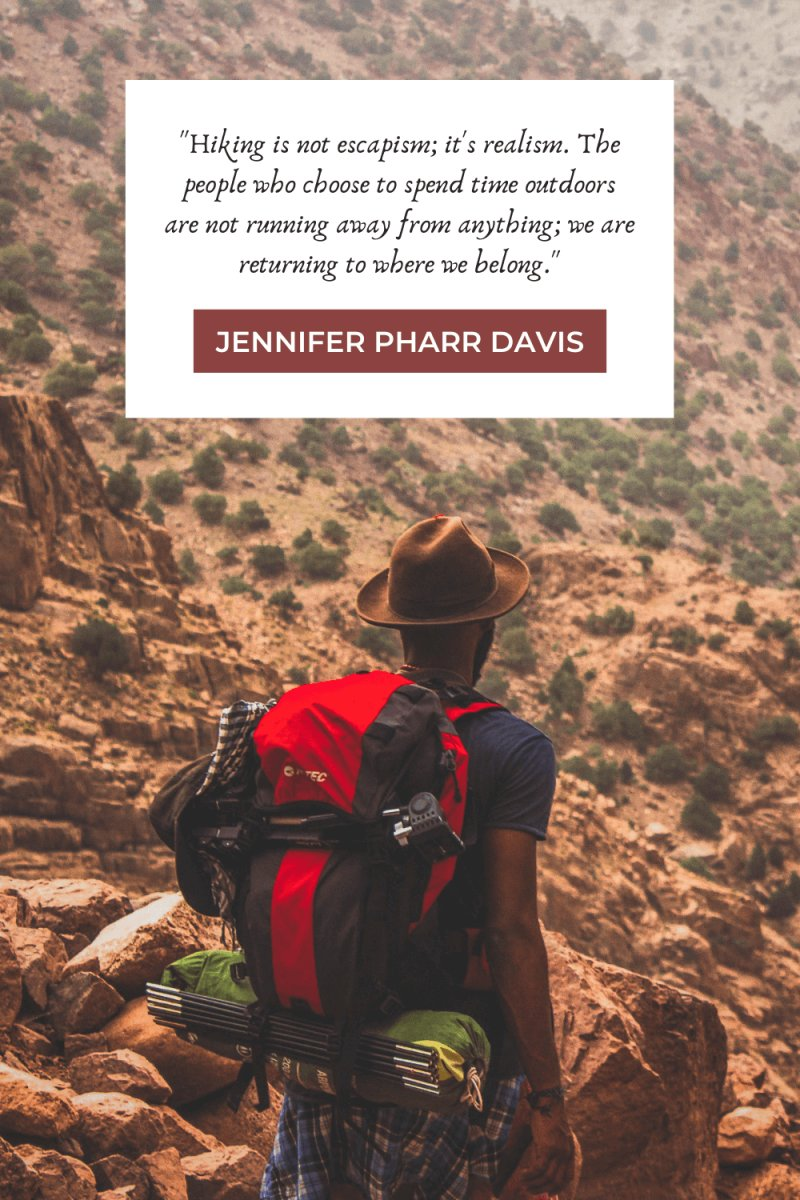 Hiking Quotes by Jennifer Pharr Davis