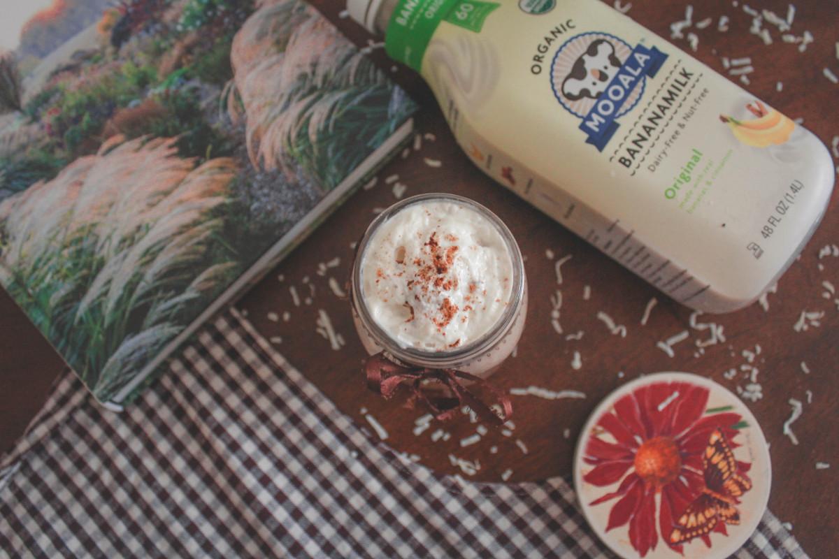 Banana Milk, dairy-free milk for milkshakes
