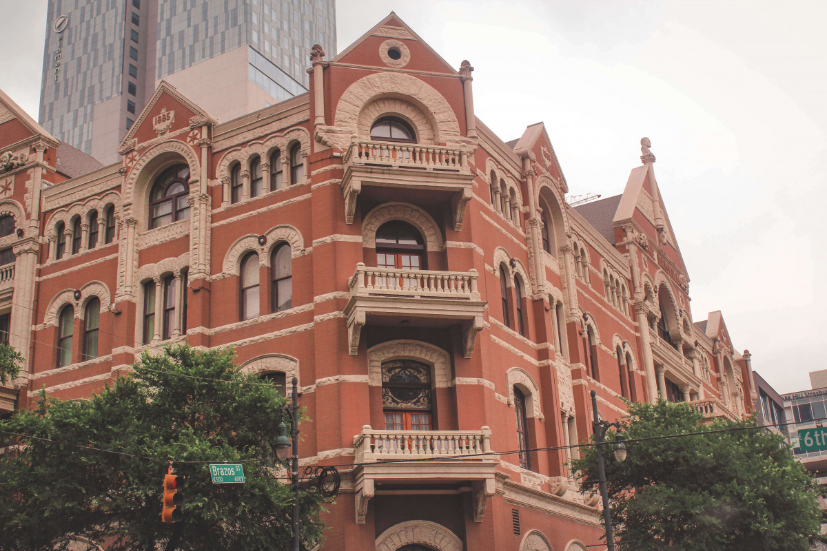 Iconic Driskill Hotel is one of the most well known attractions in Austin