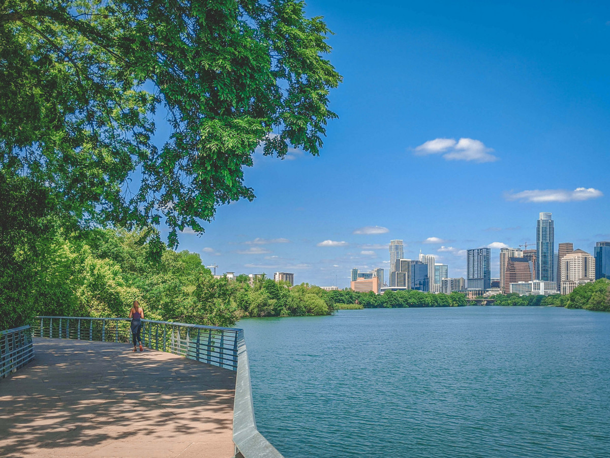 Best things to do in Austin: jogging along Ann And Roy Butler Hike And Bike Trail