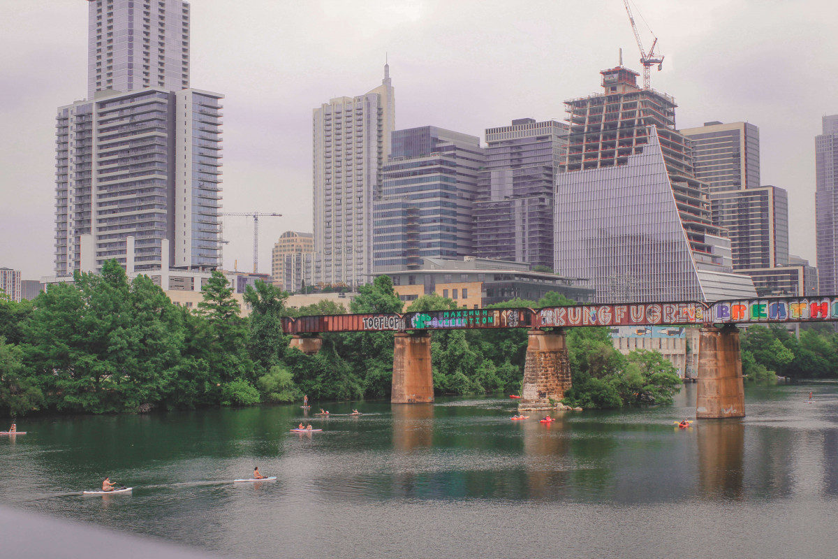 Best things to do in Austin: Lady bird Lake