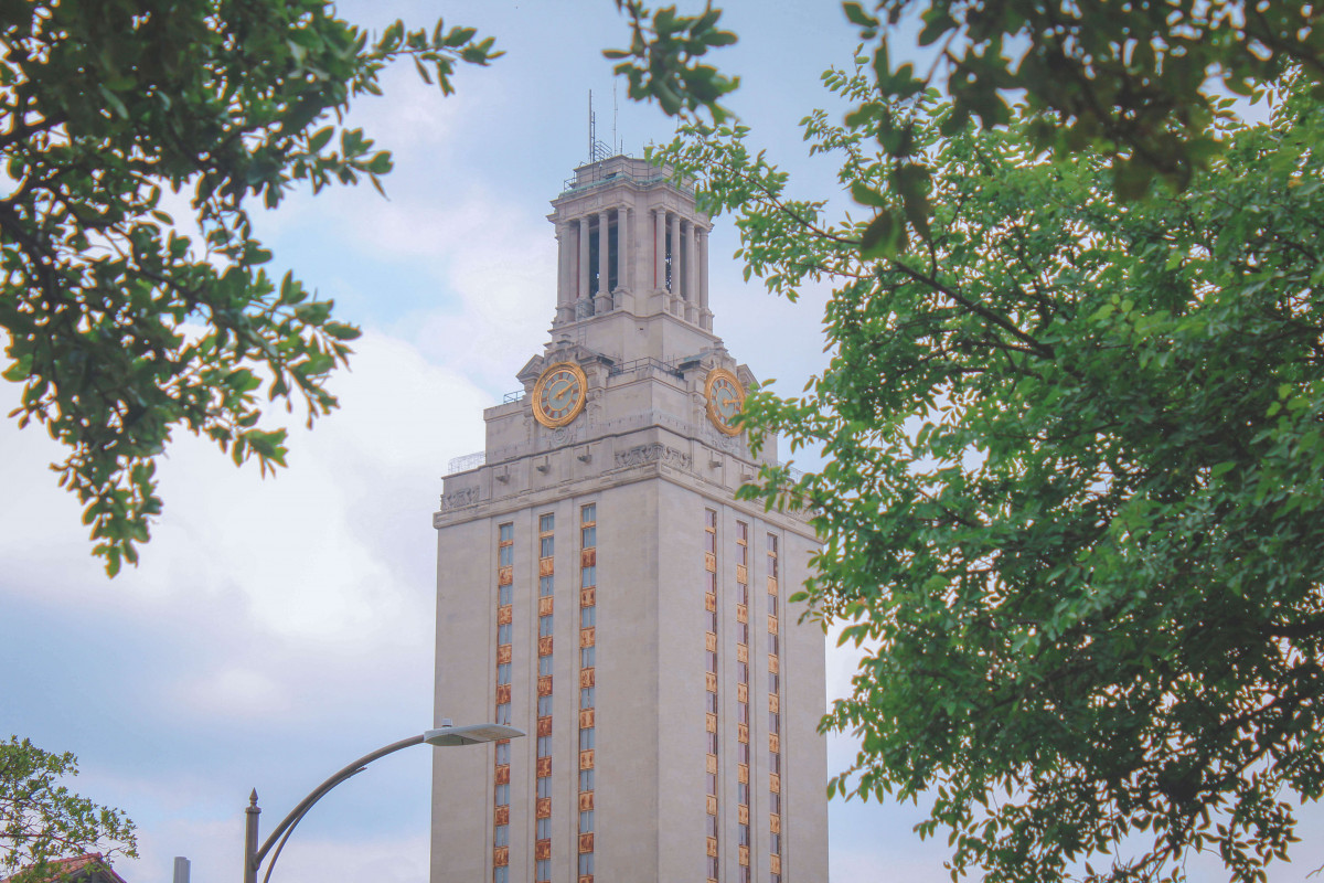 UT Tower is one of the best places to see in Austin
