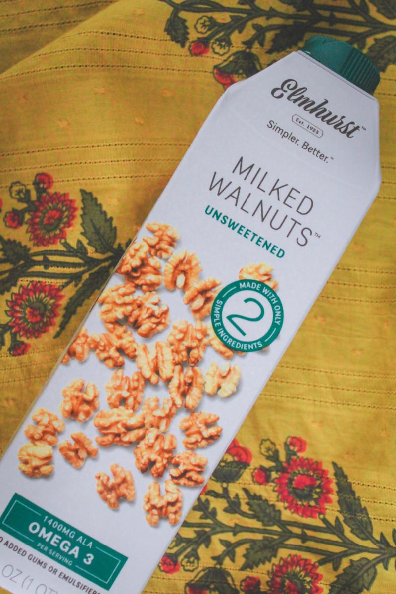 Milked Walnuts by Elmhurst, unsweetened vegan milks