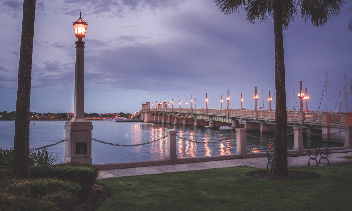 things to do in St. Augustine: Bridge Of Lions