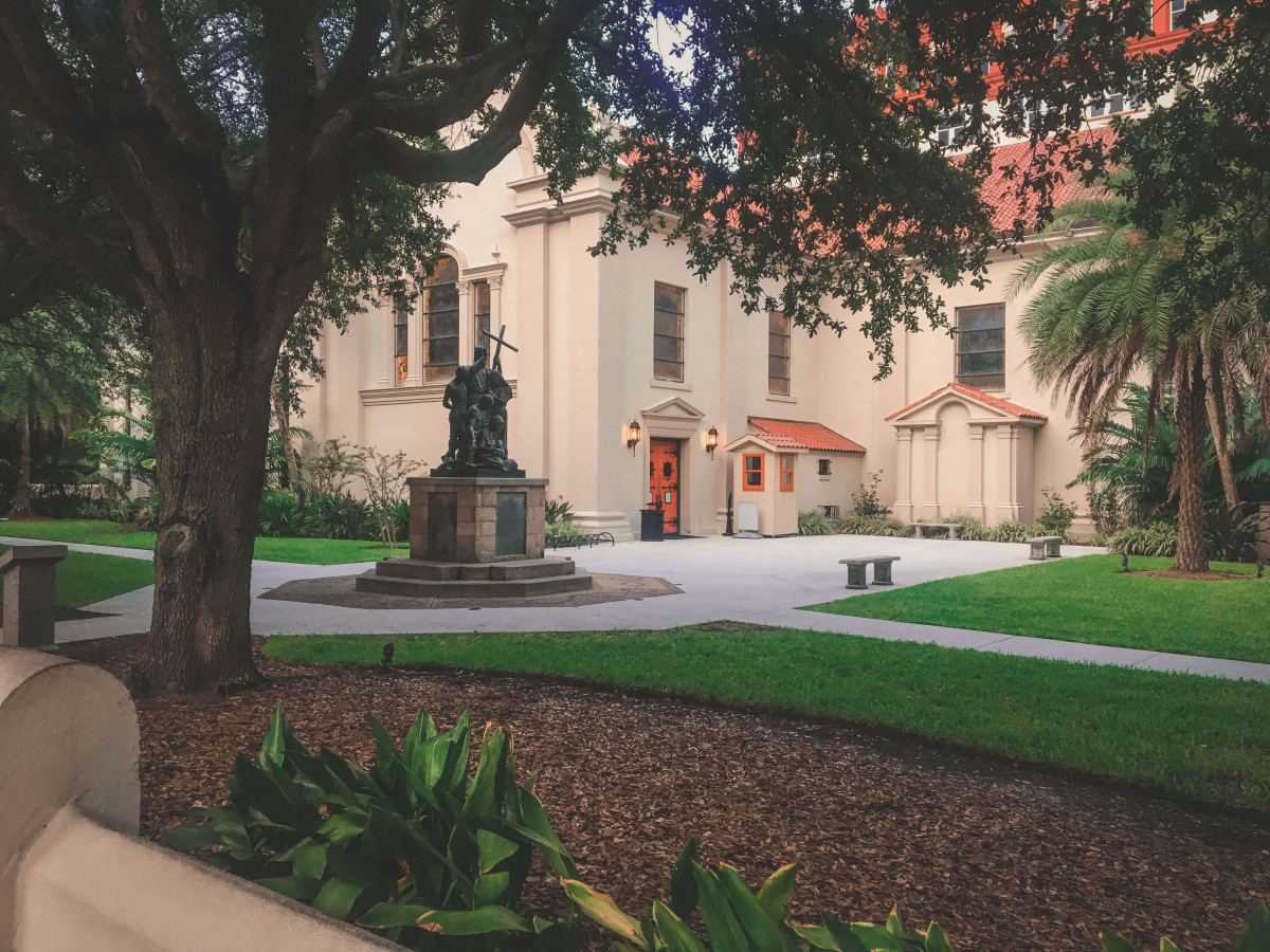 things to do in St. Augustine: Cathedral Basilica St. Augustine