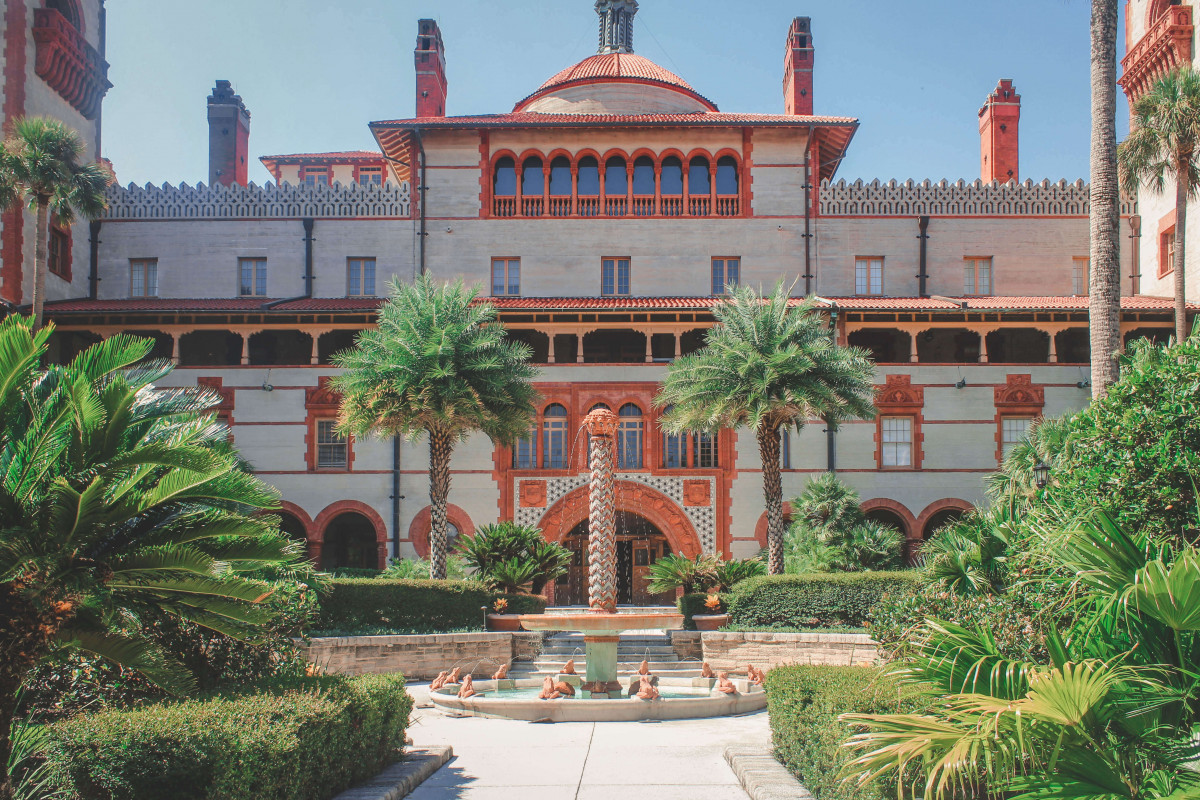 Flagler College is one of the best places to see in St. Augustine