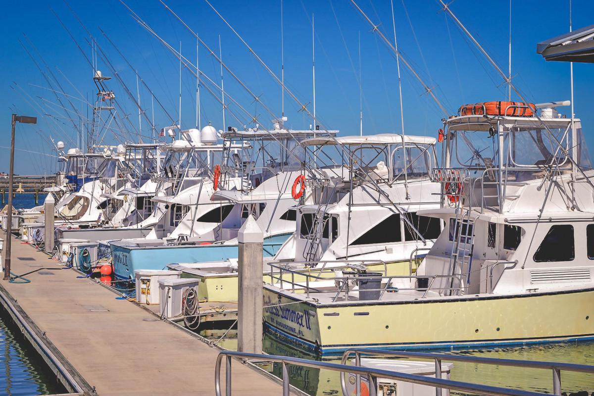marina in St. Augustine