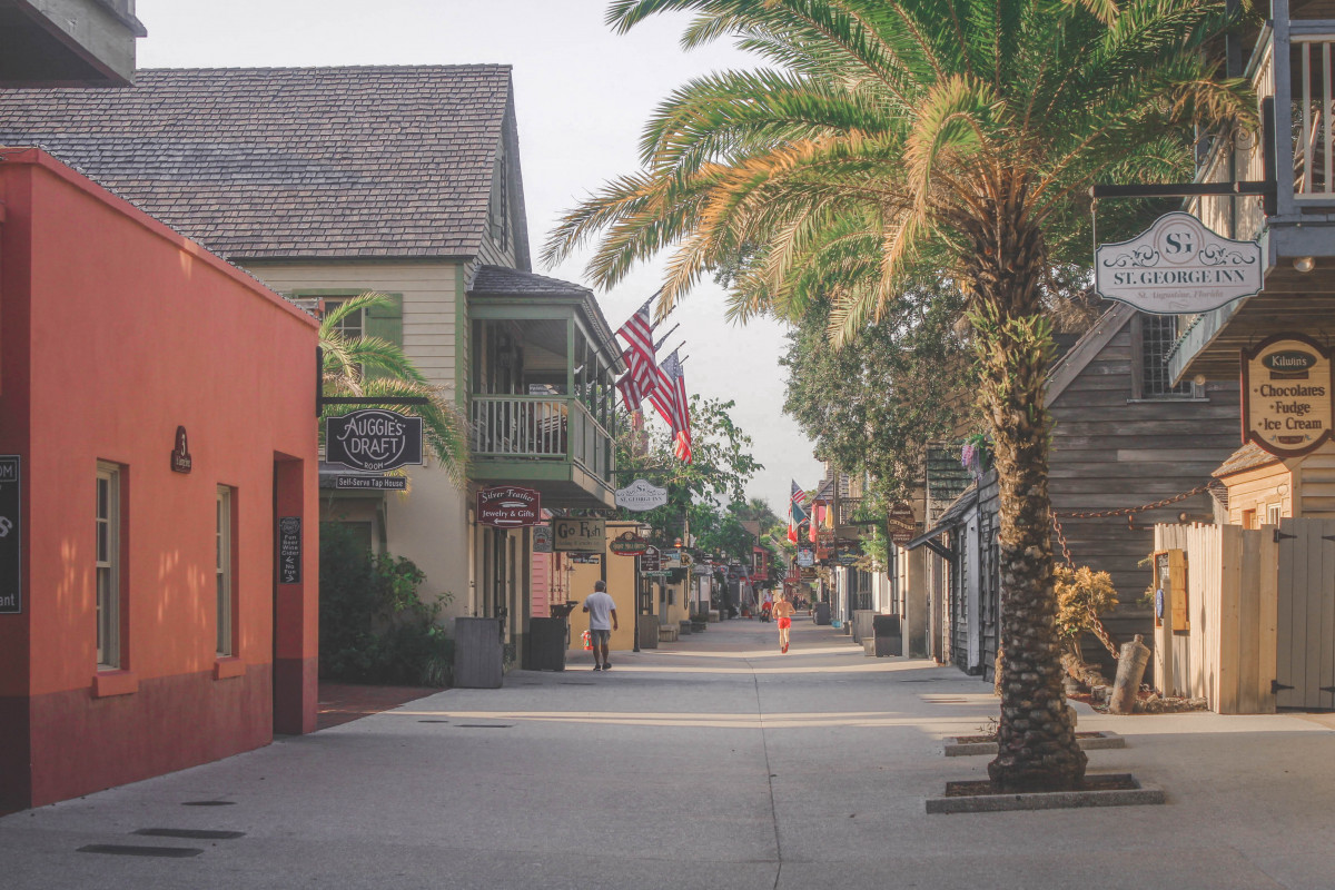 St. George Street is one of the best things to do in St. Augustine