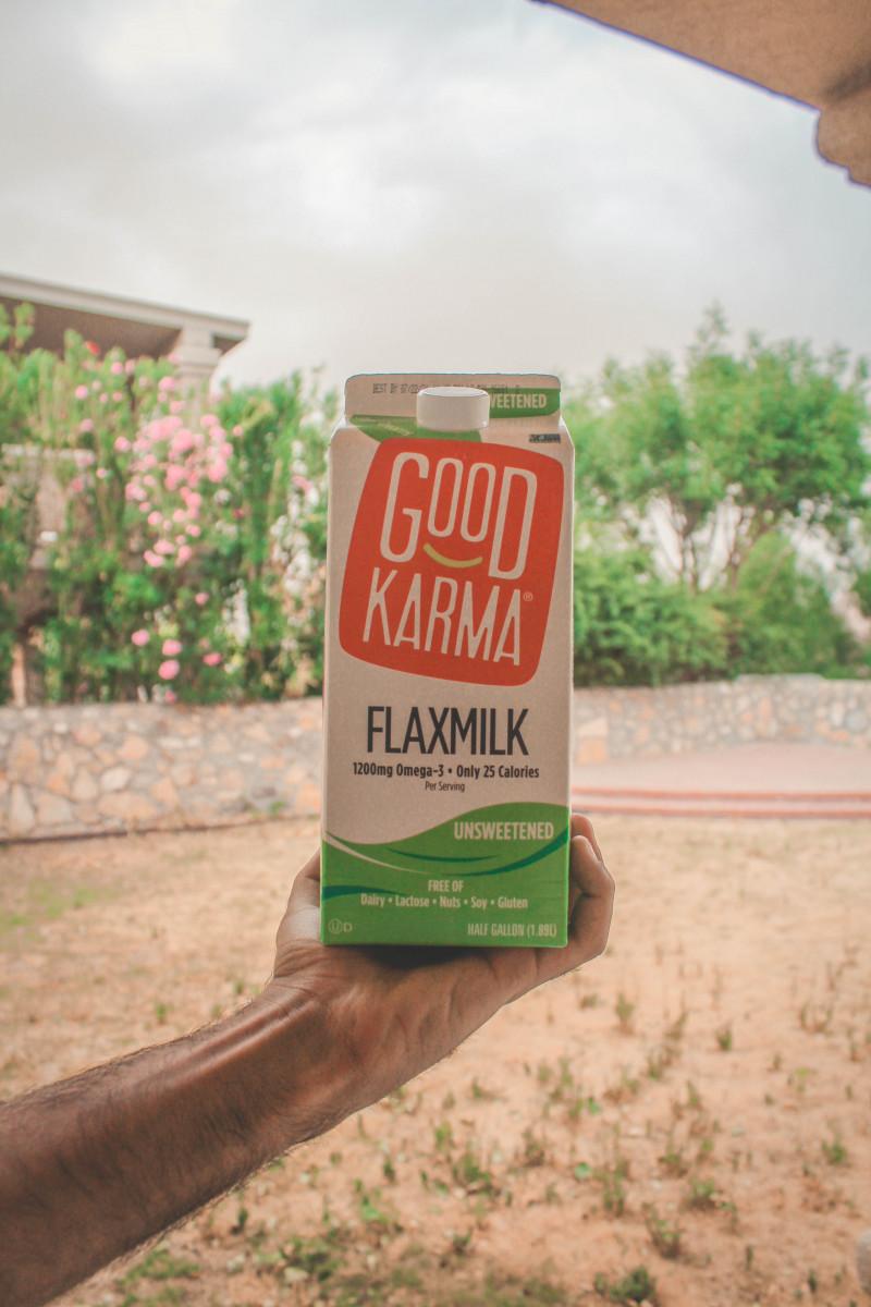 Good Karma Flaxmilk, best unsweetened vegan milks