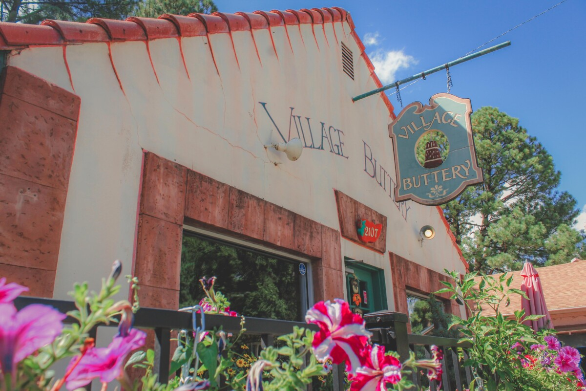 Village Buttery is one of the prettiest restaurants in Ruidoso for lunch