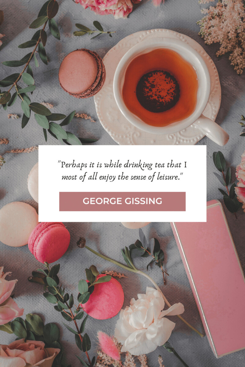 George Gissing tea quotes