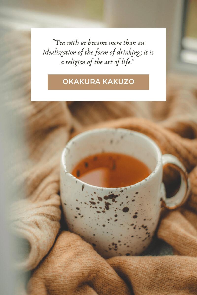 Okakura Kakuzo tea quotes